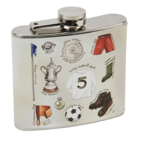 Harvey Makin Sports Pavillion Collection Hip Flask Fishing