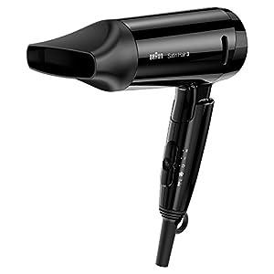 Braun Satin Hair 3 HD350 Style&Go - Secador de viaje, iónico