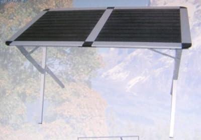 Alu-Rolltisch Campingtisch 83x54x70cm von bel-sol - Gartenmöbel von Du und Dein Garten