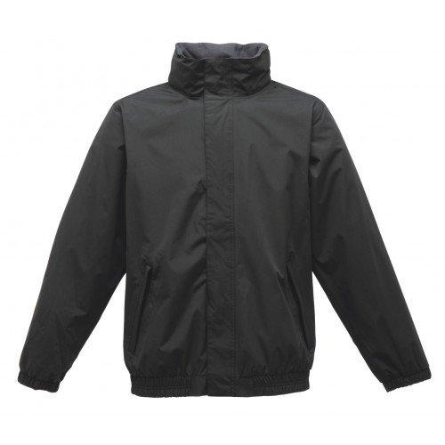 Regatta RG015 Polyester Pongee Fabric Men's Dynamo Windproof Jacket, Medium, Black