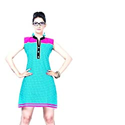 Kaya Women's Cotton Kurti (005KUCO005_Multi-Coloured_X-Large)
