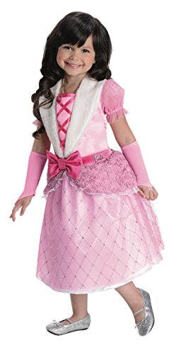 Rubies Barbie Rosebud Princess Costume, Child Medium