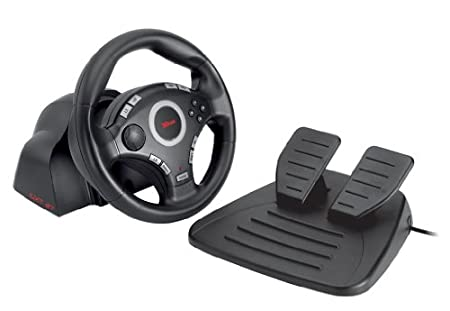 Trust GXT 27 Force Vibration Steering Lenkrad PC-PS2-PS3