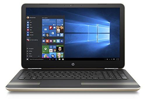 "HP Pavilion 15-au009nl Notebook, Intel Core i5-6200U, RAM 8 gb, SSD 256 GB, Scheda Grafica nVidia GeForce 940M con 2 GB dedicati, Display Full HD 15.6"" WLED, Oro"