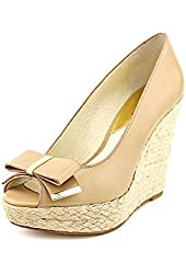 Michael Kors Women's Meg Wedge Heel Peep Toe Shoe