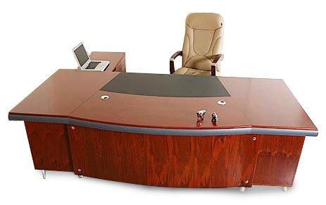 Chef Schreibtisch Büromöbel Paris rechtsseitig