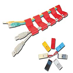 MX EASY CLIP CABLE ORGANIZER (12 PCS) - MX 2818