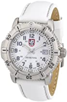 Luminox Colormark 7050 Mother of Pearl Dial Leather Ladies Watch SU7257