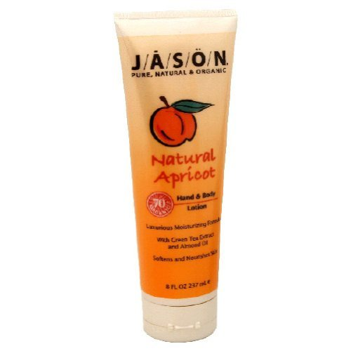 Jason Natural Cosmetics, Natural Apricot Hand & Body Lotion, 8 Oz