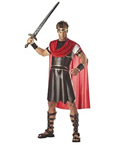 California Costumes Men's Adult-Hercules, Brown/Red, M (40-42) Costume