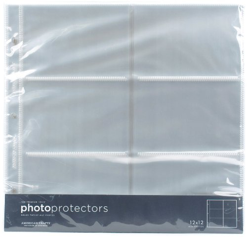American Crafts 4x6 Photo Protector Sheets (American Pictures compare prices)