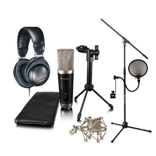 M-Audio Vocal Studio Pack M-Audio Ath-M20 Jamstand Filter Shock Mount With Ignite Software