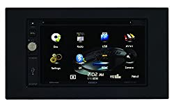 See Jensen VX4020 6.2-Inch TFT Car Stereo 2.0 DIN MultiMedia Receiver with Built-In Bluetooth and Ext Mic/USB/App Control Details