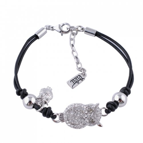 Lilii Armband Strass Eule