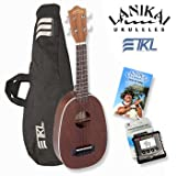 Lanikai LU-21P Pineapple? Ukulele Starter Kit Includes TKL Gig Bag, Planet Waves Universal Tuner, and Lanikai Instructional Booklet