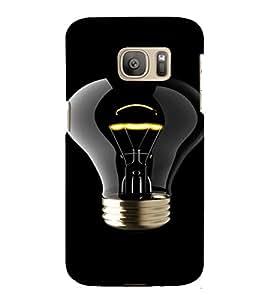 PrintVisa Bulb Light Design 3D Hard Polycarbonate Designer Back Case Cover for Samsung Galaxy S7