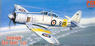 PM Models Hawker Sea Fury T 20 Model Kit