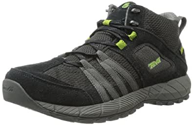 Teva Men's Wapta Mid WP Boot,Black,9.5 M US