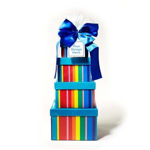 Dylan's Candy Bar Personalizable Sweet Treat Tower - Chocolate