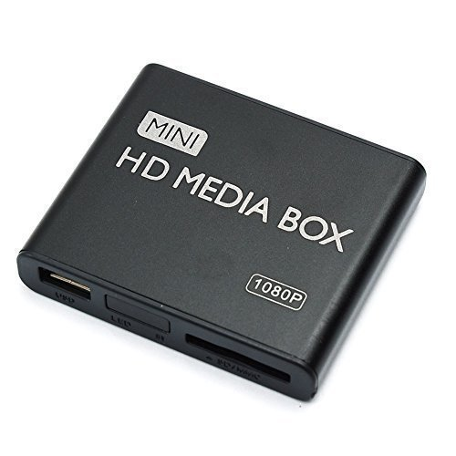 MP-power--Mini-Digital-Medienspieler-Media-Player-Full-HD-1080P-Untersttzt-HDMI-CVBS-YPbPr-AV-Videoausgang-mit-USB-MMC-SD-port-und-Fernbedienung