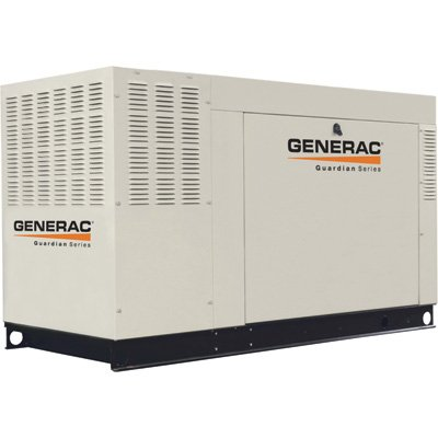 Generac Guardian Series Qt04524Ansx 45 Kw Liquid-Cooled Propane/Natural Gas Powered Standby Generator Without Transfer Switch
