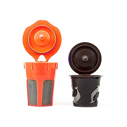 Morning Wood Coffee: K Carafe Reusable Filter and Reusable K Cup Filter Combo Pack: Compatible with all K Cup & K Carafe Brewers including Keurig 2.0. Keurig Accessories for Your Keurig Coffee Maker. (Keurig 20 Reusable Filter compare prices)