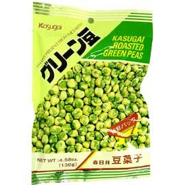 Kasugai Roasted Peas 3.35 oz by Kasugai