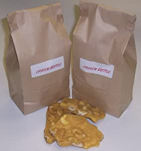 Scott's Cakes Cashew Brittle 2 lb. Bag
