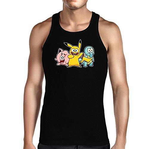 Herren-Tank-Top-Parodie-auf-Bob-Patrick-und-Carlo-von-SpongeBob-Schwammkopf-und-Pikachu-von-Pokemon-775