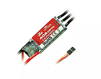 Goliton® ZTW Spider-Series 40A OPTO Brushless ESC 3S-6S pour Multi-Rotor Helicopter