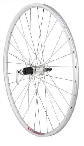 Avenir Shimano RM30/Weinmann XC-260 32H QR Rear Wheel with 8/9 Speed Cassette Compatible Hub (Silver, 700 x 24mm)