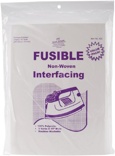 Great Deal! HTC Fusible Non-Woven Interfacing, 15-Inch by 3-Yard