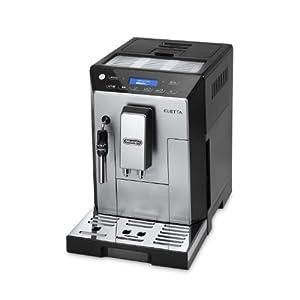 DeLonghi ECAM 45.326 S Kaffeevollautomat Eletta Plus (Dampfdüse) schwarz
