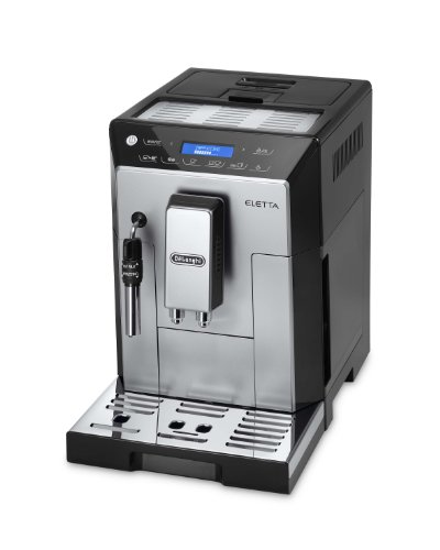 DeLonghi ECAM 45.326 S Kaffeevollautomat Eletta Plus (Dampfdüse) schwarz thumbnail