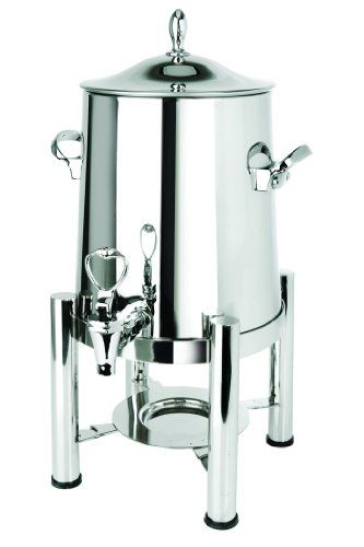 Eastern Tabletop 3125 Stainless Steel 5-Gallon Coffee Urn With Pillared Legs