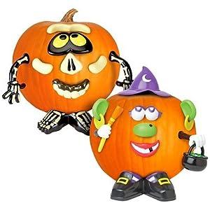 Amazon.com: Hasbro Mr. Potato Head Skeleton and Witch Pumpkin Combo