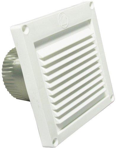 Speedi-Products EX-EVML 03 3-Inch Diameter Micro Louver Eave Vent, White (3 Inch Outside Vent compare prices)