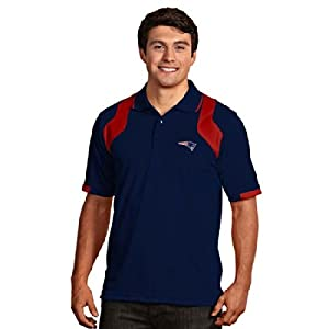 New England Patriots Fusion Polo (Team Color) by Antigua