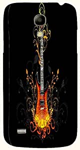 Good Looking multicolor printed protective REBEL mobile back cover for Samsung I9190 Galaxy S4 mini D.No.N-T-2674-S4M