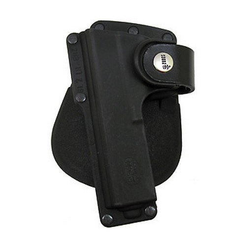"Details for Fobus Roto Tactical Speed Holster ""Paddle Left Hand Glock 17 22 31 Ruger 345 SR9 Beretta PX4"" by Fobus"