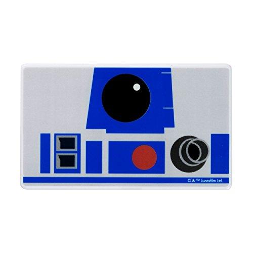 STAR WARS スターウォーズ モバイルバッテリー スマホ充電器 薄型 小型 軽量 3000mAh / Face Icon / R2-D2