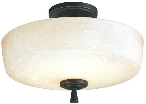 Lithonia 11530 Bza M4 Ferros Energy Star Flush/Semi-Flush Indoor Light, Antique Bronze