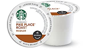 Starbucks Pike Place Roast K Cups, 96 Count