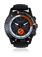 Sparco Reloj Man Jackie Negro / Naranja 42 mm