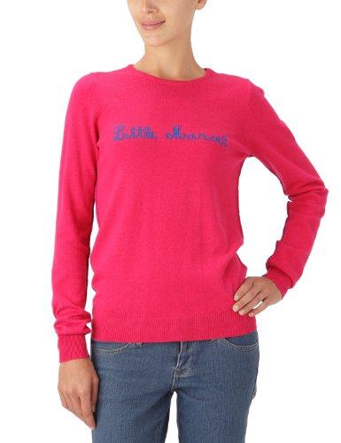 Little Marcel - Maglia, Manica lunga, Donna Multicoloured - Multicolore (Rose/Rouge) 38