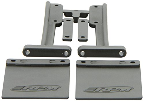 RPM 81012 Mud Flaps Bumper Slash Black
