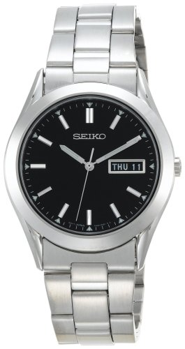 Seiko Men's SGF719 Dress Silver-Tone Watch