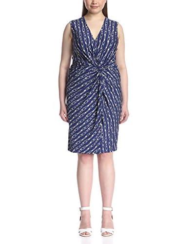 JB Julie Brown Plus Women's Lucia Sleeveless Wrap Dress