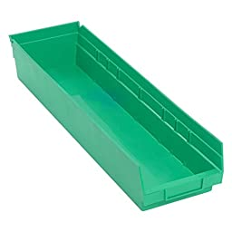 Quantum Economy Shelf Bins - 23.625W x 6.625D x 4H in.