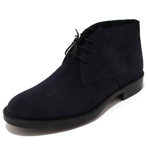 4316P polacchino ANTICA CUOIERIA blu scarpa uomo shoe men [44]